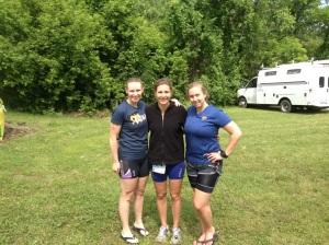 Tri ladies!